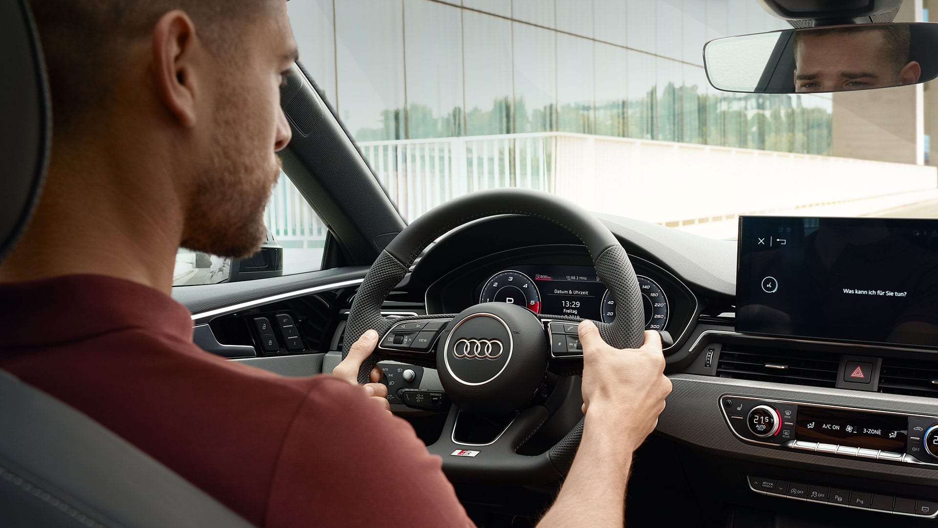 Audi virtual cockpit in the Audi A5 Sportback